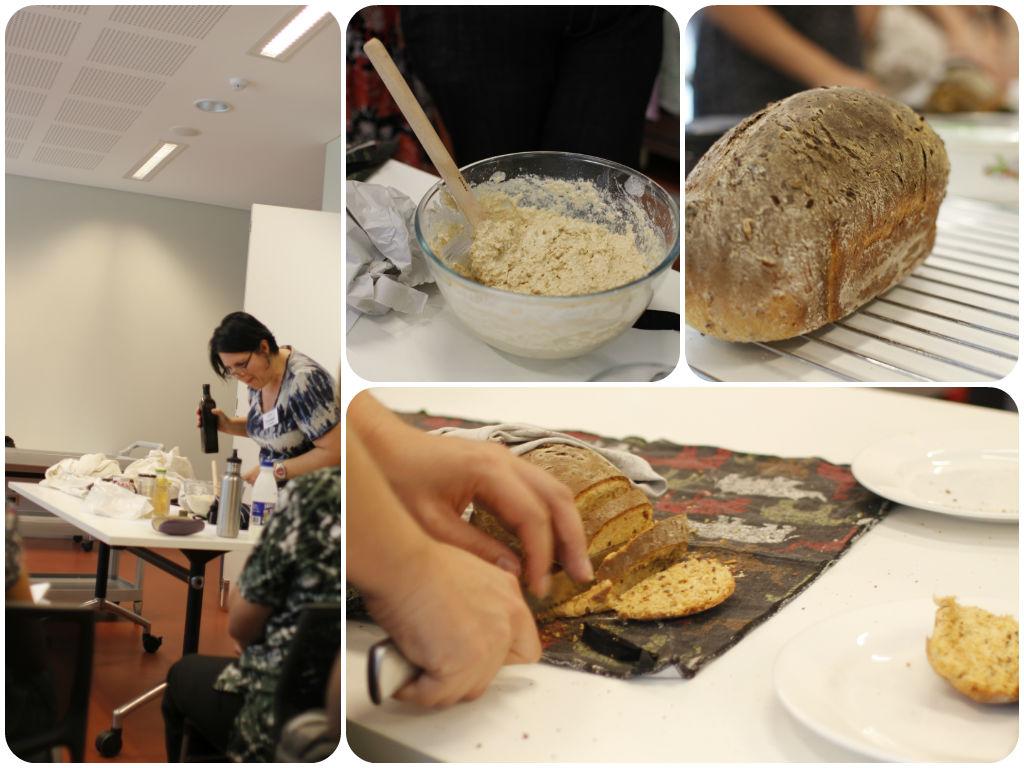 Bread-making class