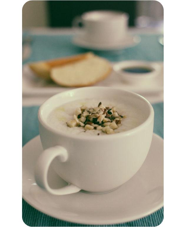 Pine nut porridge