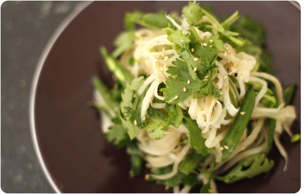 Radish noodles