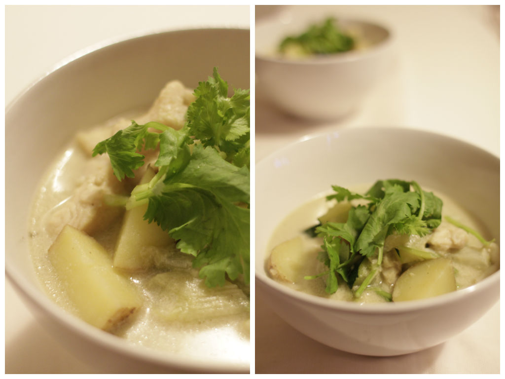 Fish Green Curry