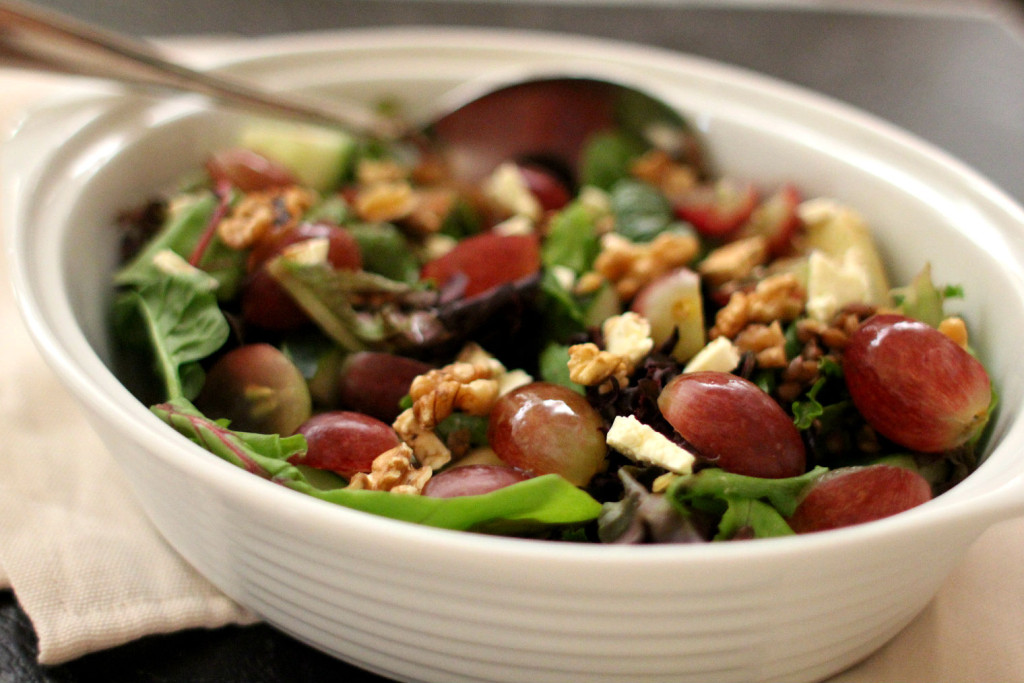 Grape Lentil Salad