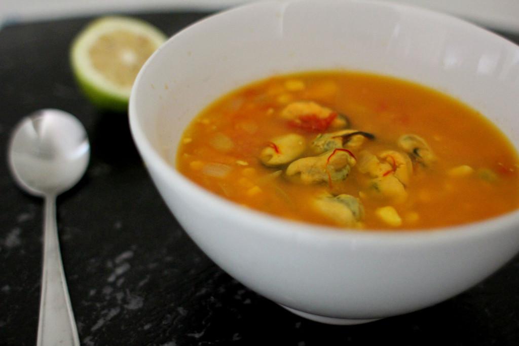 Mussel Corn Chowder
