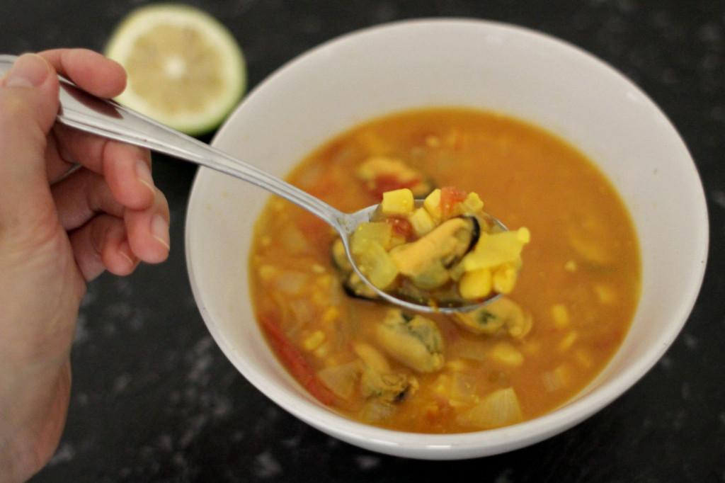 Mussel Corn Chowder1