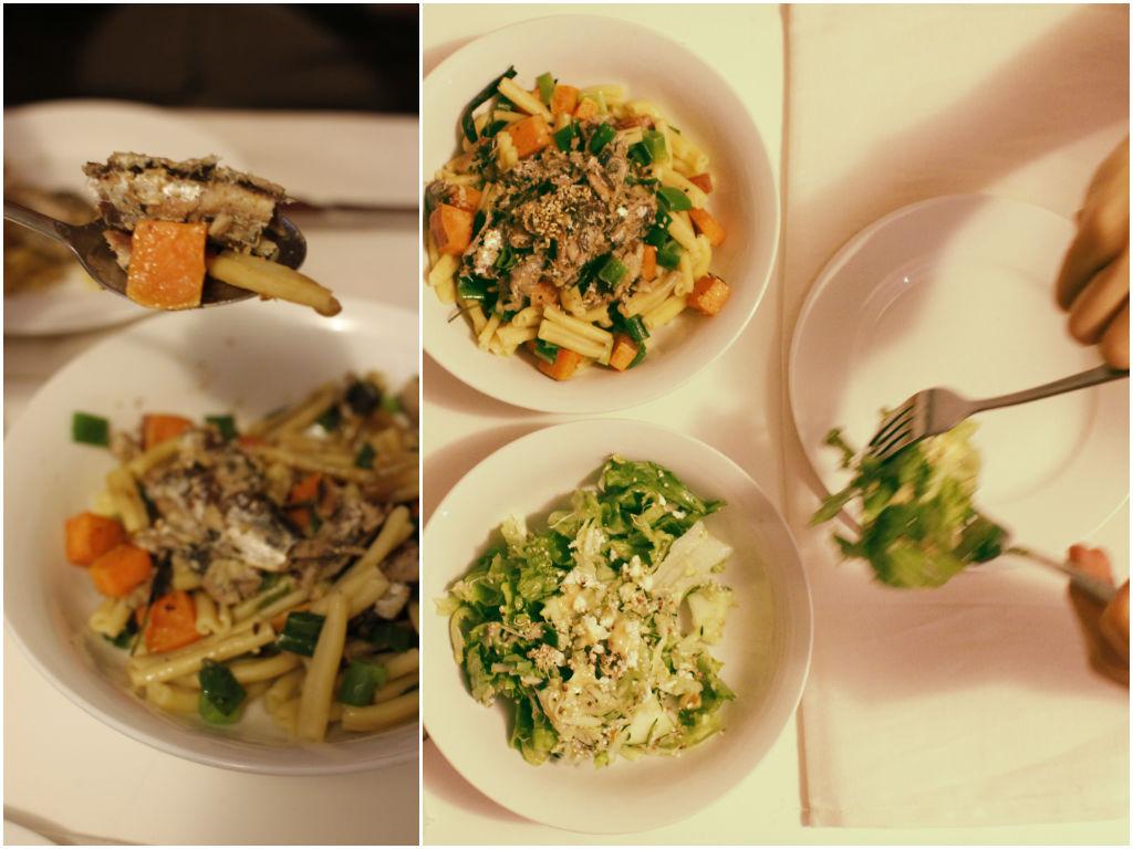 Pasta and Salad2
