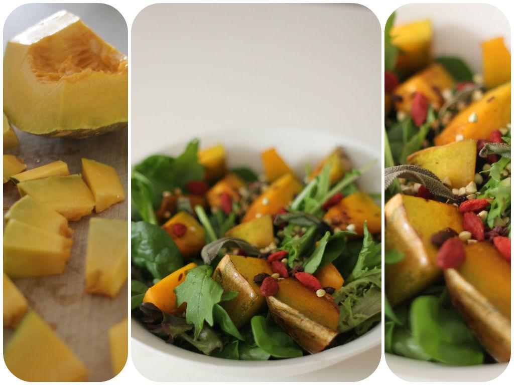 Roasted Pumpkin Sala