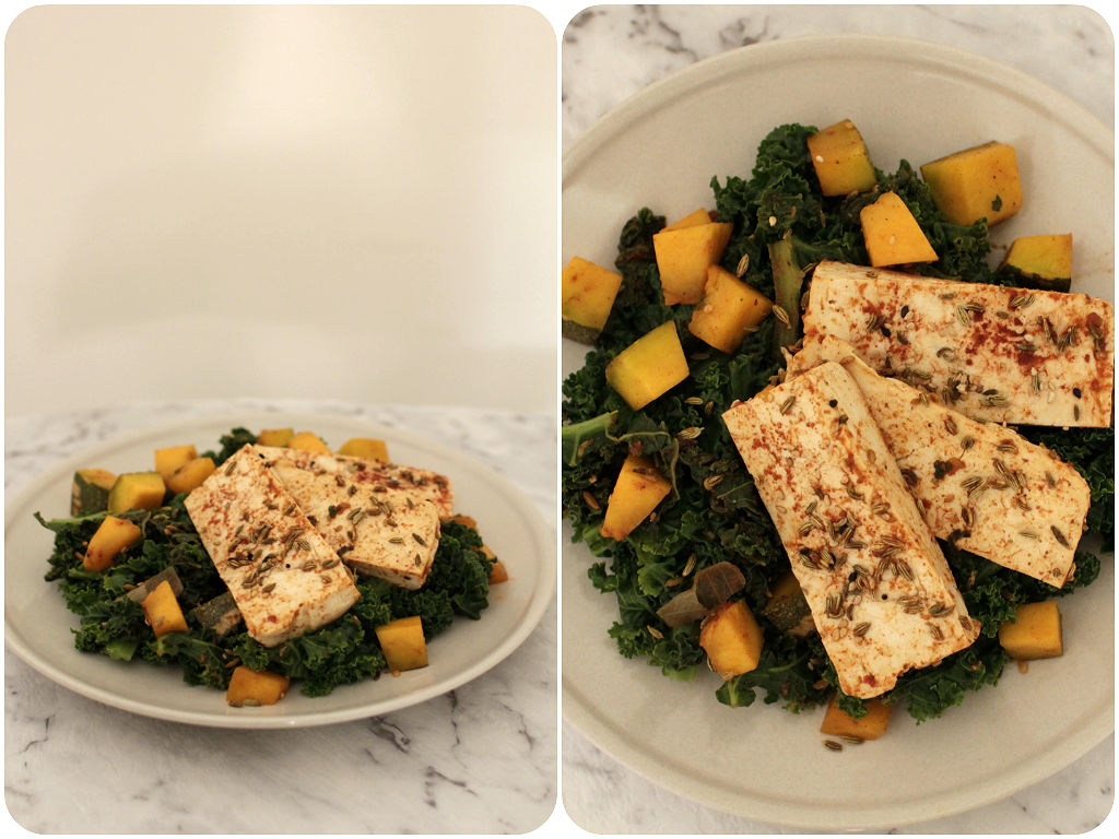 Tofu and Kale