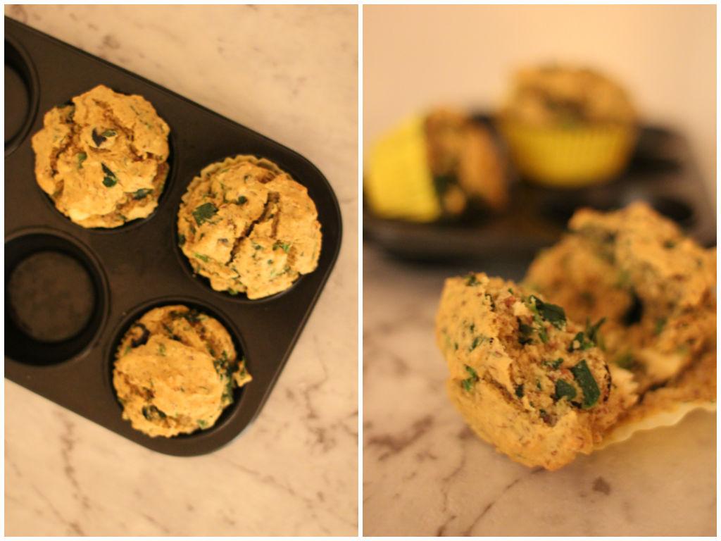 Lupin muffins