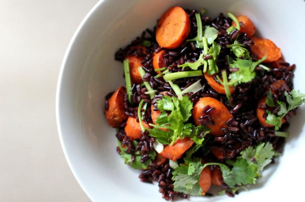 carrot wild rice