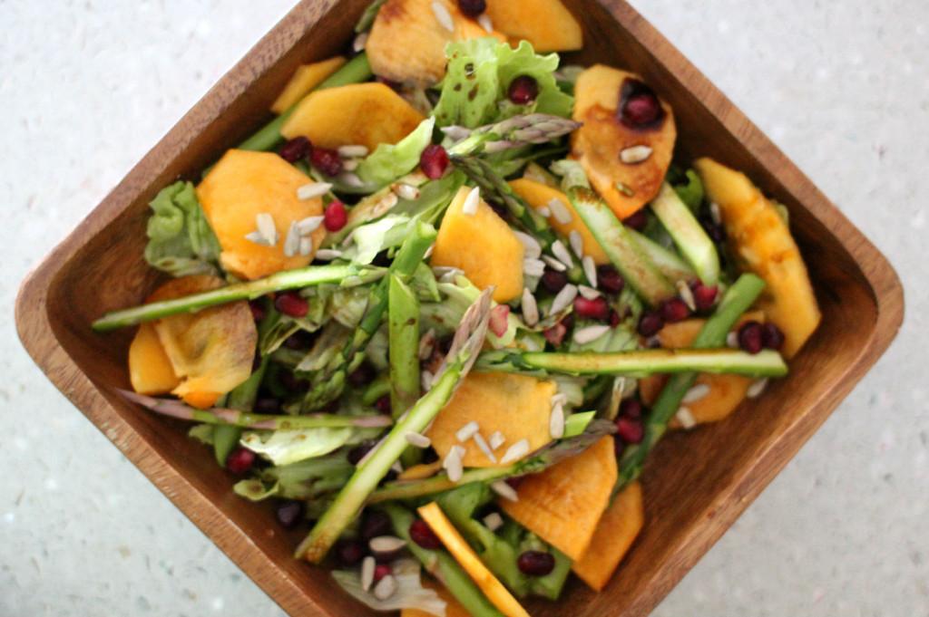persimmon salad1