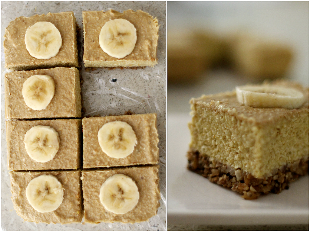 raw banana cheesecak