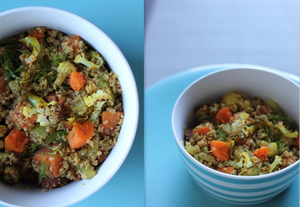 Corn couscous salad2