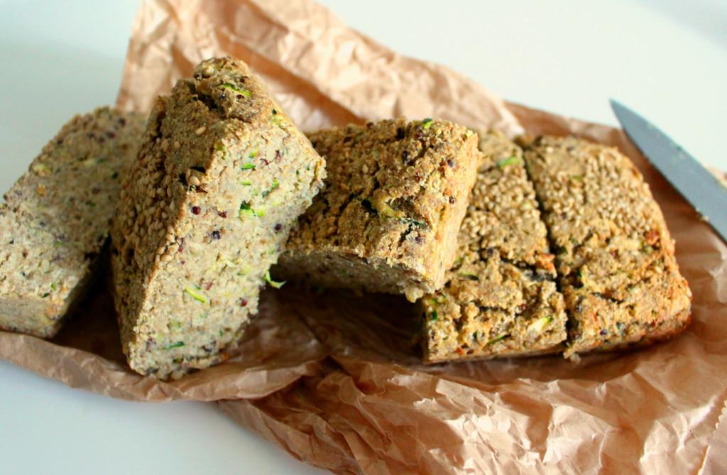 zucchini quinoa loaf